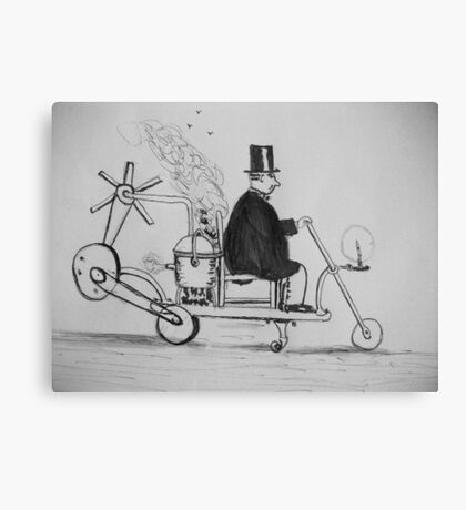 Edwardian Mobility Scooter Canvas Print