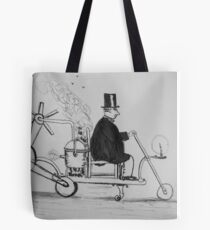 Edwardian Mobility Scooter Tote Bag
