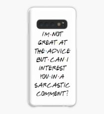 CAN I INTEREST YOU IN A SARCASTIC COMMENT? Case/Skin for Samsung Galaxy