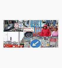 weymouth traffic Photographic Print