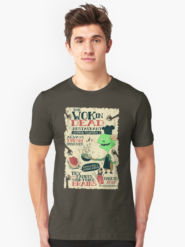 The Wok In Dead Unisex T-Shirt Front