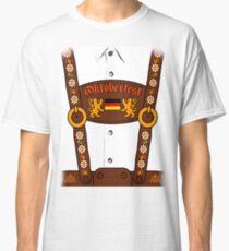 Oktoberfest Lederhosen Costume Classic T-Shirt