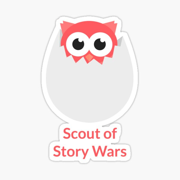 Scout of Story Wars Sticker