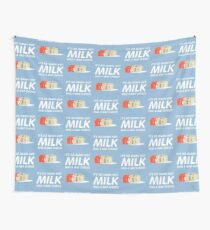 Milk Was A Bad Choice Wall Tapestry