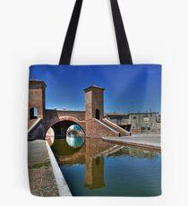 Trepponti - Three Bridges Tote Bag