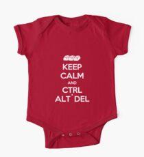 Keep Calm - Ctrl + Alt + Del One Piece - Short Sleeve