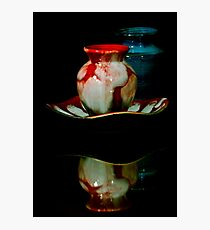 The Little Red Jar Photographic Print