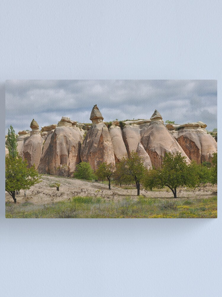 Alternate view of Fairy Chimneys Canvas Print