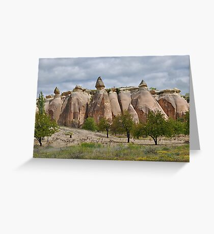 Fairy Chimneys Greeting Card