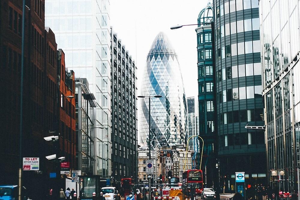 The Gherkin, London. by mbfotoart