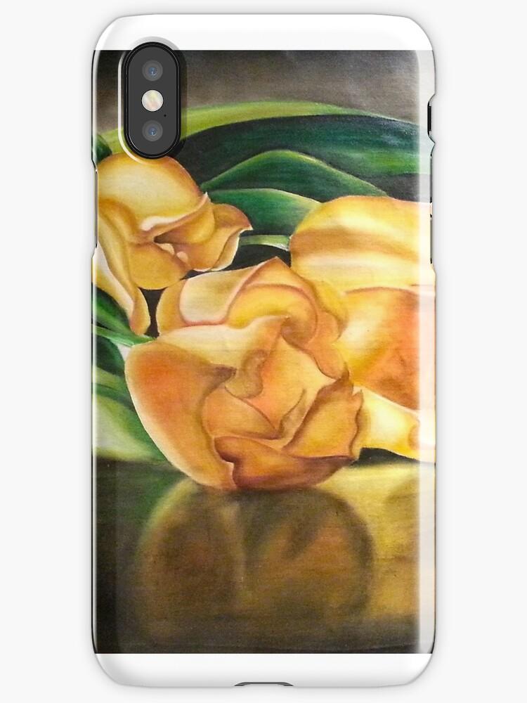 55. Yellow Tulips by mviljoenart
