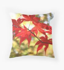 Red in Spring Throw Pillow