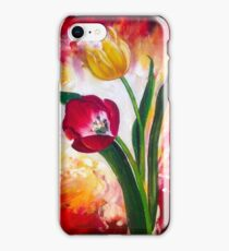 61. Tulips on Fire iPhone Case/Skin
