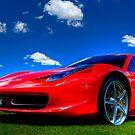 Candy Apple Red Ferrari  by J Jennelle