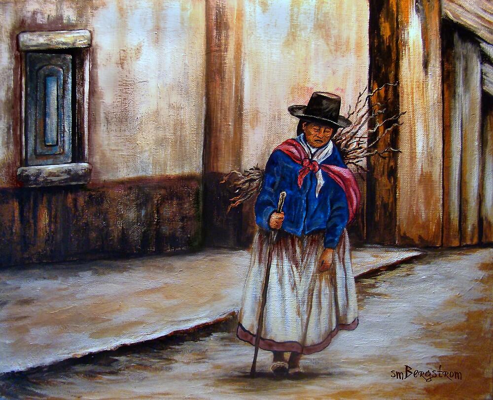 Long Walk Home #2 by Susan  Bergstrom