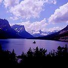 Saint Marys Lake...Montana by RoseMarie747