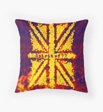 Spirit of '77 Throw Pillow