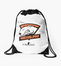 Virtus.pro signed players Drawstring Bag