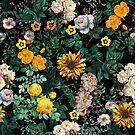 Midnight Garden XX by Burcu Korkmazyurek