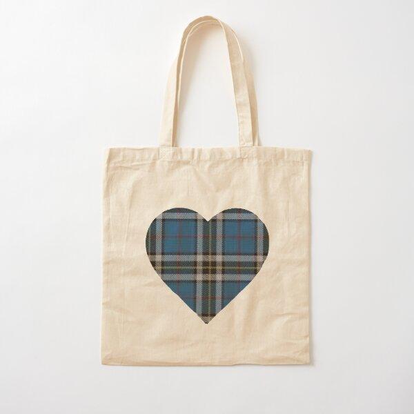 Thomson Blue Tartan Cotton Tote Bag