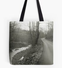 Two Paths Tote Bag