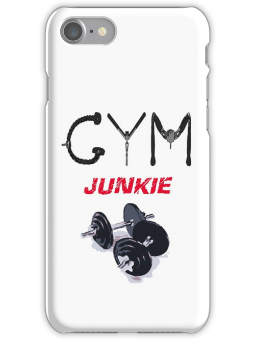 Gym junkie clothing by Andy Zile