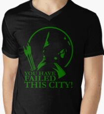 You Have Failed this City! Men's V-Neck T-Shirt