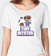Tiny Tower Bitster Women's Relaxed Fit T-Shirt