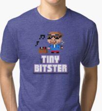 Tiny Tower Bitster Tri-blend T-Shirt