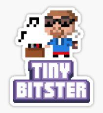 Tiny Tower Bitster Sticker
