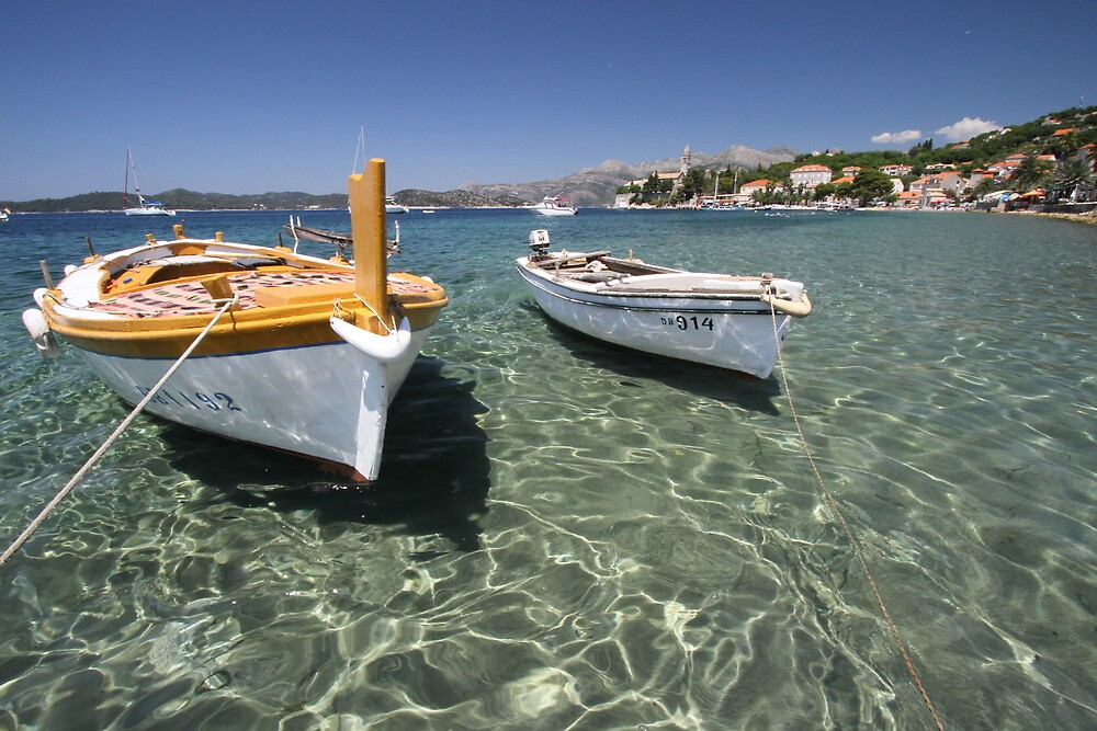 Adriatic Boats by kyle coffee