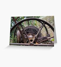 Bygone Farm Greeting Card