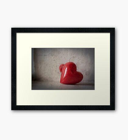 Remember Me? Framed Print