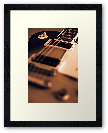 Gibson Les Paul  by Paul Shellard