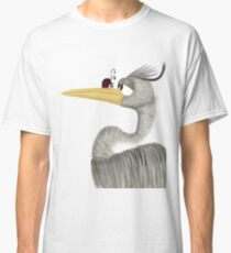 Herb The Heron And His Visitor Classic T-Shirt