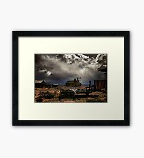 Fort Rock Ghost Town Framed Print