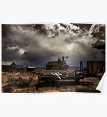Fort Rock Ghost Town Poster