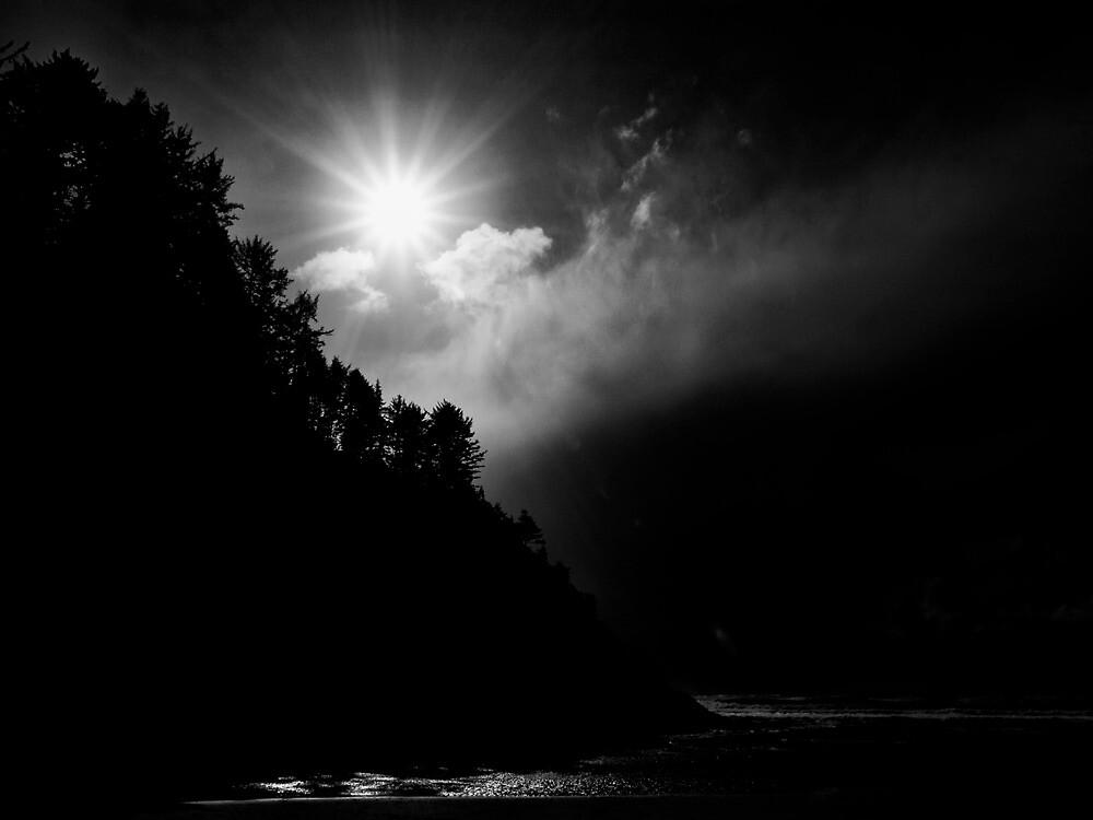Oregon Coast Sun Glow by Charles & Patricia   Harkins ~ Picture Oregon