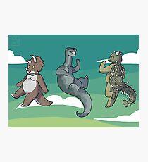 Mini Dinosaurs 2 Photographic Print