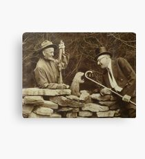The First Groundhog Day Canvas Print