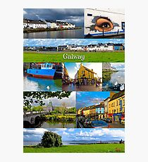 The vibrant city of Galway Photographic Print