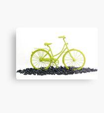 Bicycle triumphs traffic Metal Print