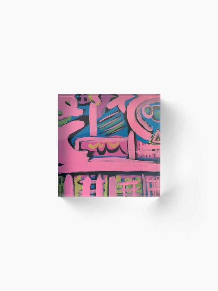 Alternate view of Hashtag Love  Acrylic Block
