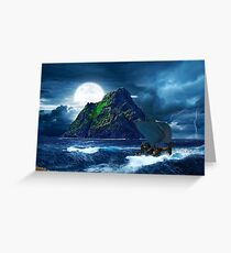 Skellig Michael Greeting Card