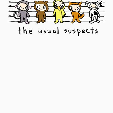 the usual suspects by lynniebelle