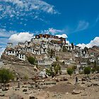Thiksey Monastery by RajeevKashyap