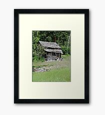 Once Upon A Time.. Framed Print