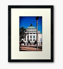Estonia. The Theater. Framed Print