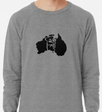 Australia + Koala ALL PROFITS WILL BE DONATED TO WIRES Wildlife Rescue & AUSTRALIAN RED CROSS! Lightweight Sweatshirt