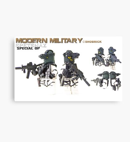 Modern Military Spetnaz Canvas Print